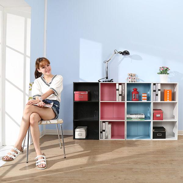 收納櫃【百嘉美】建-糖果粉彩三層櫃2入組 收納櫃 書櫃 櫃子 書房收納 玄關櫃 隔間櫃 外宿 開學