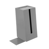 HOLA 直立面紙盒-灰