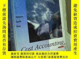 二手書博民逛書店Cost罕見Accounting Hammer Carter U
