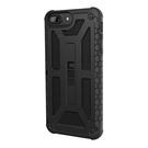 【美國代購】UAG iPhone 8  7  6s Plus Monarch Feather-Light 軍用摔落測試手機殼 黑色