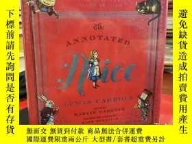 二手書博民逛書店The罕見Annotated Alice: 150th Anniversary Deluxe EditionY