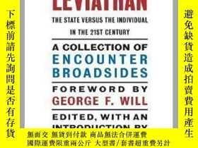 二手書博民逛書店新利維坦:21世紀的國家與個人罕見The New Leviathan : The State Versus the