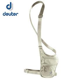 丹大戶外 德國【Deuter】Security Holster 隱藏式小錢包80g 輕便貼身/可放置手機零錢等物 3942216 卡其
