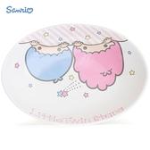 日本限定 三麗鷗 KIKI & LALA 雙子星 大臉版 陶瓷 咖哩碗 / 餐盤
