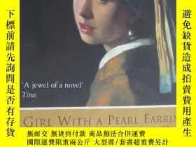 二手書博民逛書店Girl罕見with a Pearl Earring 英文原版 大32開Y85718 Tracy Cheval