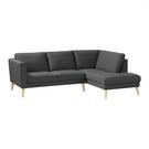 【歐雅居家】卡爾轉角布沙發-L型面右-灰 / 沙發 / 布沙發 /三人沙發 / 12層內材