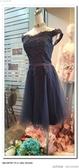 (45 Design高雄實體店面) 現貨零碼-極速出貨-特賣出清 大尺寸 小尺寸洋裝 短禮服 媽媽服伴娘 S85