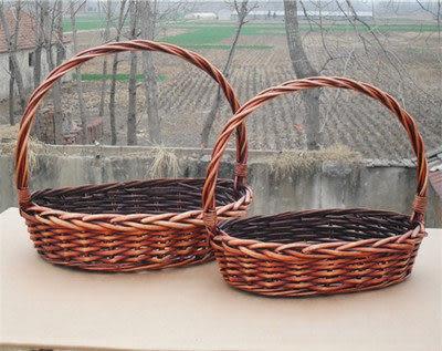 藤編柳編籃子野餐籃
