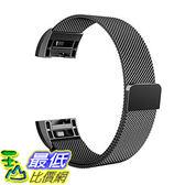 [106美國直購] Swees SWS-FITBITCHG2BL 黑色 (大:6.1吋-9.9吋) Fitbit Charge 2 Bands 手環 錶帶