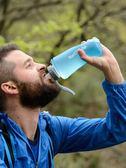NH戶外硅膠水壺健身運動水杯旅行便攜可折疊杯子登山大容量軟水袋  Cocoa