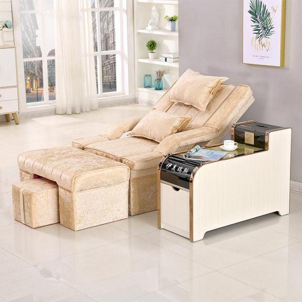電動沙發 按摩床足浴沙發躺椅電動美甲美睫椅子足療店按摩沙發椅足浴床