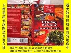 二手書博民逛書店Celebrating罕見150 Years of Canadian Cuisine慶祝150年的加拿大美食(57