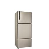 聲寶530公升三門變頻冰箱香檳銀SR-B53DV(Y6)