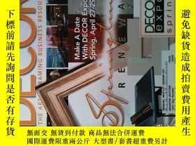 二手書博民逛書店DECOR罕見MAGAZINE 2007年4月 裝飾雜誌 THE ART & FRAMING BUSINESS R