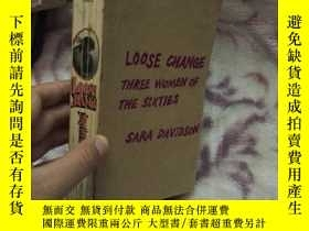 二手書博民逛書店(英文版)LOOSE罕見CHANGE Three Women o