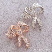 胸針蝴蝶結飾品配飾韓國西裝男女衣服開衫毛衣大衣可愛別針小胸花 科炫數位