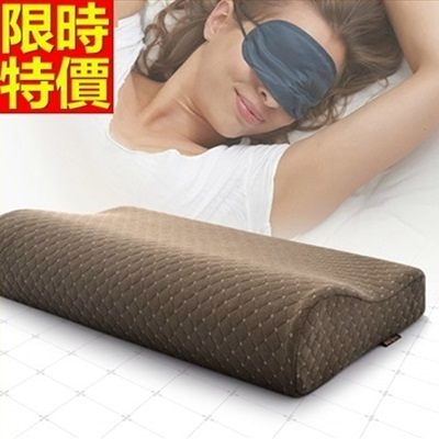 枕頭 頸部記憶枕 防濕防霉-竹炭抗菌弓形保健67b12【時尚巴黎】