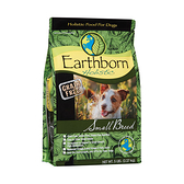 寵物家族-Earthborn原野優越-低敏無穀小型成犬(雞肉+鮭魚+蘋果)2.27kg