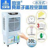 【艾來家電】【分期0利率+免運】大家源 勁涼負離子遙控空調扇 30公升 水冷扇 TCY-8907