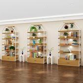 貨架展示架化妝品展示櫃自由組合展櫃鞋店鞋架可拆卸美容?品貨櫃