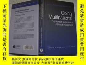 二手書博民逛書店Going罕見Multinational the korean