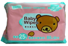【 TwinS伯澄】適膚克林-植物性配方嬰兒濕毛巾100抽 *12包