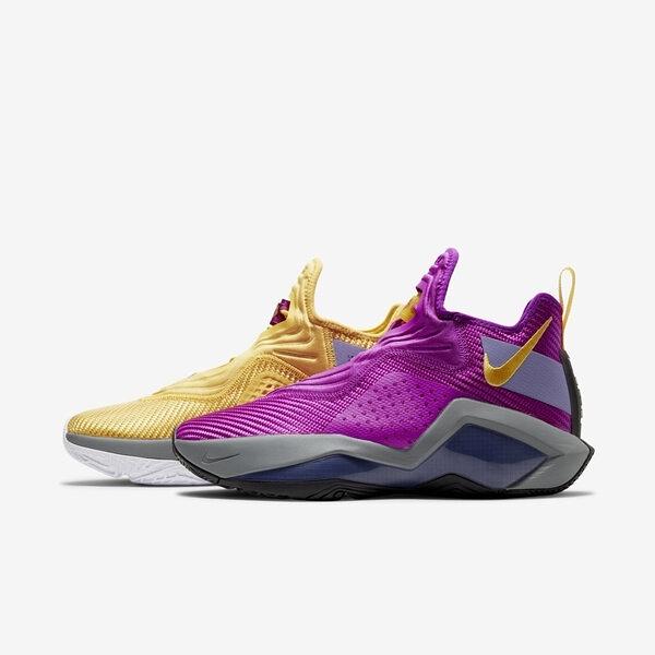 Nike Lebron Soldier Xiv Ep [CK6047-500] 男鞋 籃球 NBA 詹皇 穿搭 紫 金