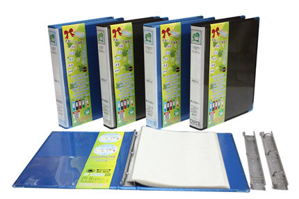 鼎盛 H768-80入 A4 3孔文件夾 6本/箱