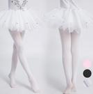 天鵝絨芭蕾舞褲襪 白絲襪 褲襪 橘魔法 現貨  兒童 薄褲襪 白褲襪 黑褲襪 童裝 中大童 女童禮服