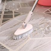 浴室地板刷硬毛長柄清潔刷衛生間浴缸刷戶外瓷磚地磚去污洗地刷子