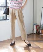 法國亞麻錐形褲I【coen】