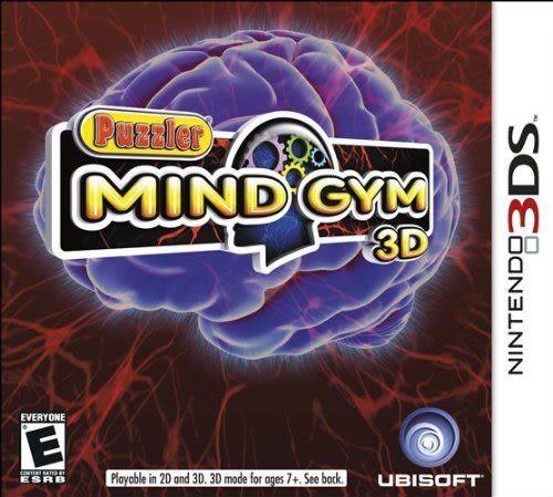 3DS Puzzler Mind Gym 3D 解謎腦鍛鍊 3D(美版代購)