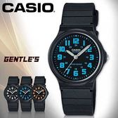 CASIO手錶專賣店 卡西歐 MQ-71-2B 男錶 壓克力鏡面 簡約指針 日常生活防水 塑膠錶殼 橡膠錶帶