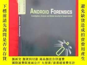 二手書博民逛書店Android罕見Forensics: Investigatio
