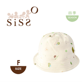 【SISSO有機棉】森林寶貝甜可愛遮陽帽 F