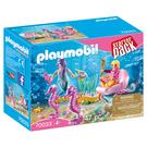 摩比積木 playmobil 美人魚與海馬車
