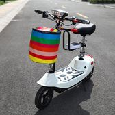 滑板車迷你電動車成人小型女性型折疊兩輪代步車便攜電瓶車 法布蕾輕時尚igo
