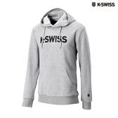 K-SWISS K-SWISS Hoodie連帽上衣-男-灰