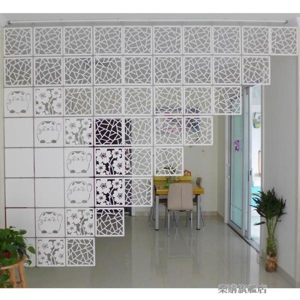 掛式屏風隔斷時尚懸掛客廳餐廳臥室玄關房間隔斷簾子折疊裝飾屏風wy