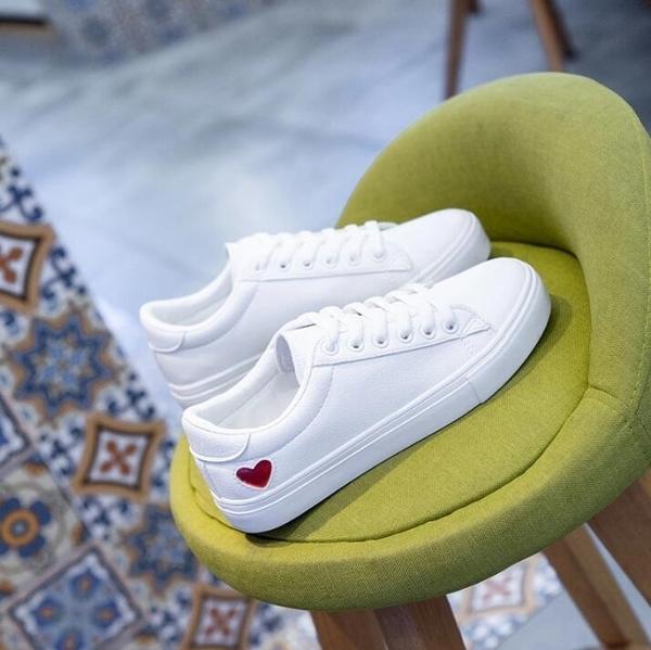 2020春款春季新款小白鞋女鞋子韓版平底板鞋百搭基礎網紅學生白鞋 618購物節