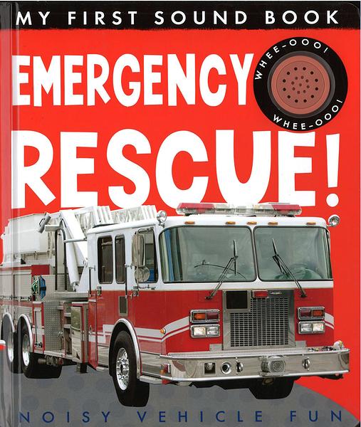 【幼兒聲音書:交緊急救援】MY FIRST SOUND BOOK : EMERGENCY RESCUE