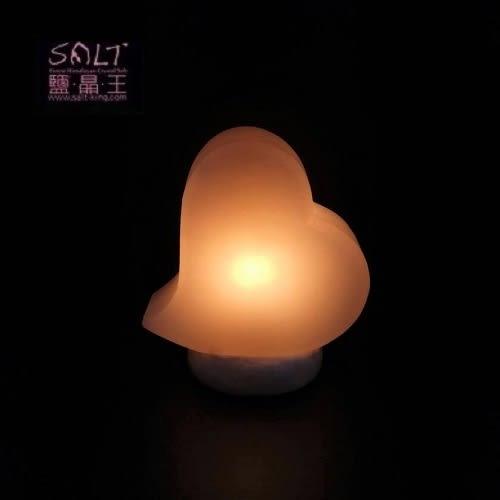 鹽燈專家-☆鹽晶王☆頂級白鹽(心動)造型鹽燈,命理界真正的招財黃光,送禮自用最佳的選擇。