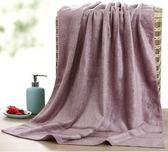 竹纖維浴巾成人柔軟超強吸水比純棉不掉毛家用大號竹炭浴巾女男士 蓓娜衣都