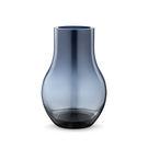 丹麥 Georg Jensen Cafu Glass Vase M 卡夫 藍色玻璃 花瓶 中尺寸