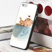 [機殼喵喵] Apple iPhone 5C i5C 手機殼 客製化 外殼 全彩工藝 SZ160 現貨 W 兩個世界 貓戀魚