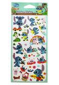 【卡漫城】 Stitch 燙金貼紙 ㊣版 史迪奇女朋友 星際寶貝 醜ㄚ頭 外星人 卡片貼 獎勵貼 卡通貼紙