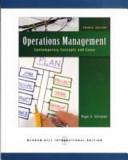 二手書博民逛書店《Operations Management: Contemporary Concepts and Cases》 R2Y ISBN:9780071263863