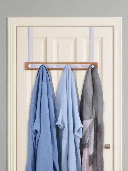 門後掛鉤掛衣架門上強力黏鉤免打孔無痕壁掛置物創意掛衣鉤衣帽鉤 黛尼時尚精品