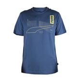 PUMA 基本系列反光短袖T恤 藍 581916-43