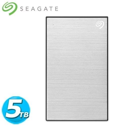 全新 Seagate希捷 Backup Plus Por 2.5吋 5TB 星鑽銀(STHP5000401)